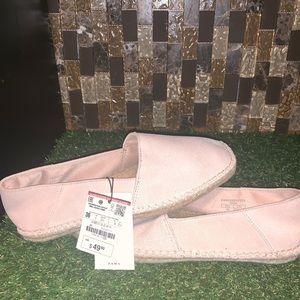 Zara Leather Slip On